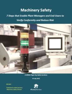 Machinery Safety White Paper Cover image